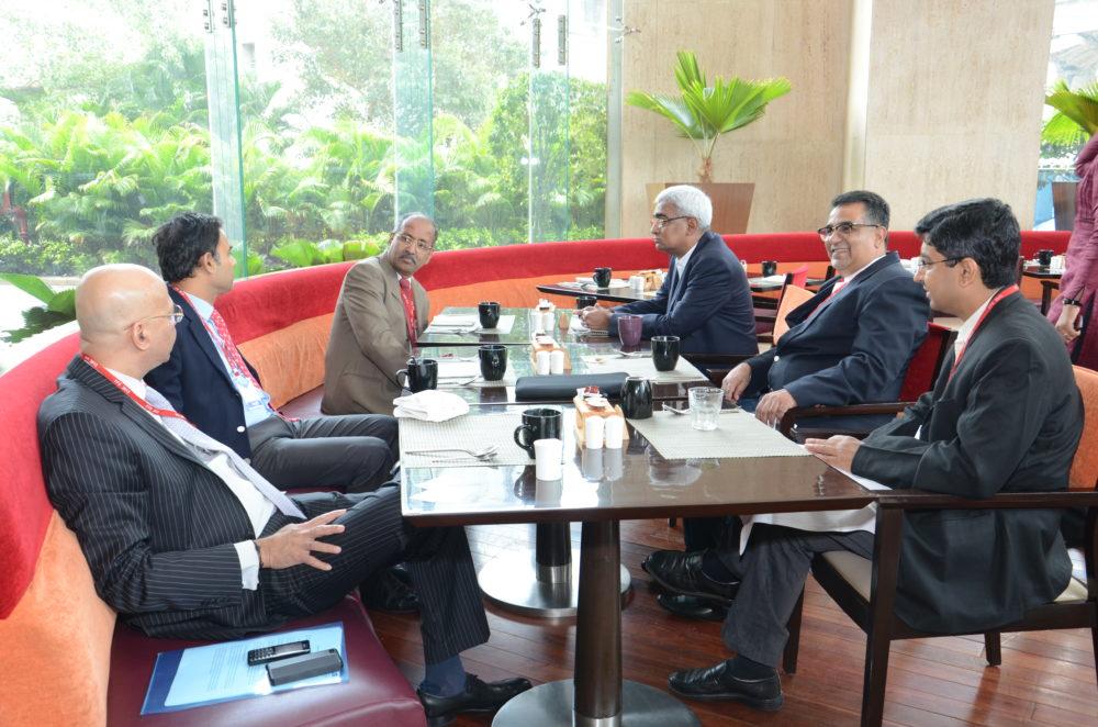 (L-R) Ganesh Nayak – COO & Executive Director, Cadila Healthcare; Sujay Shetty - Partner, PwC; K. Hariram - M.D. (retd.), Galderma India;